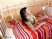 Hot hardcore fuck with a flexible teen slut