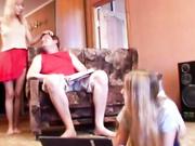 Freak daughters seducing a stepdad