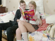Step-Sister Seduce To Fuck by Step-Brother after School