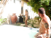 StepBrother and StepSister Fucking In The Jacuzzi