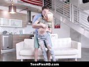 Very Tiny Blonde Teen Step Sister Creampie From Step Brother