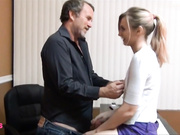 Daddy and step daughter need some privacy