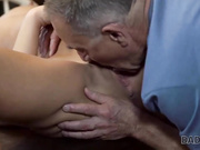 DADDY4K. Chick and senior have old and young