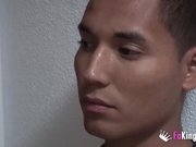 18 years schoolgirl meets a big dicked latin lover. They'll