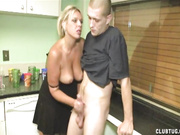 Mrs. Riley Punishes Godson