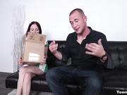 She Gave Him an Intense Cock Milking