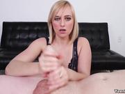 Kate England handjob skills