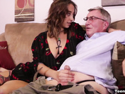 Mr. Dave Milked by Marilyn Mansion