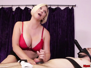 Goddess Brianna Dominates Him