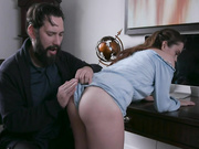 Disciplined Stepdaughter Dick Down